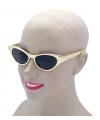 Gouden feestbril voor volwassenen