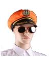 Oranje zonnebril piloten model